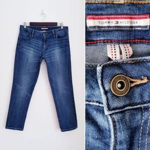 TOMMY HILFIGER Slim Crop Jeans, 4